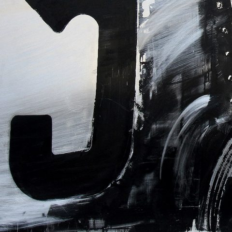 Auto Union by Paul Kenton, UK Contemporary artist, an original painting from his Motorsports collection