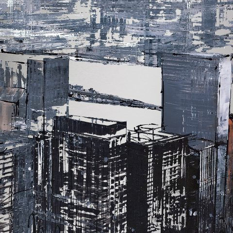 Urban Overlook by Paul Kenton, UK contemporary cityscape artist, a limited edition print from his New York Collection