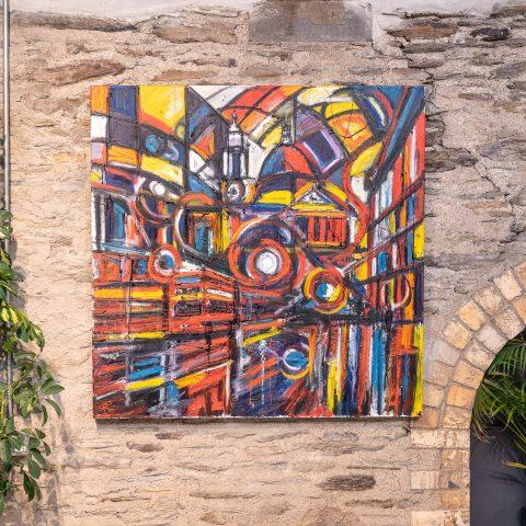 St Pauls Abstract - Location Photo