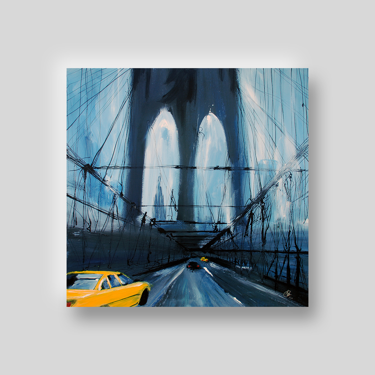 City of Dreams by Paul Kenton, UK contemporary cityscape artist, a limited edition print from his New York Collection
