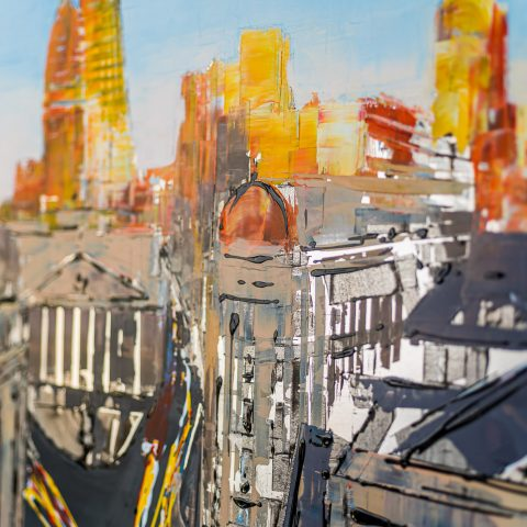Into the City - Close-Up Photo