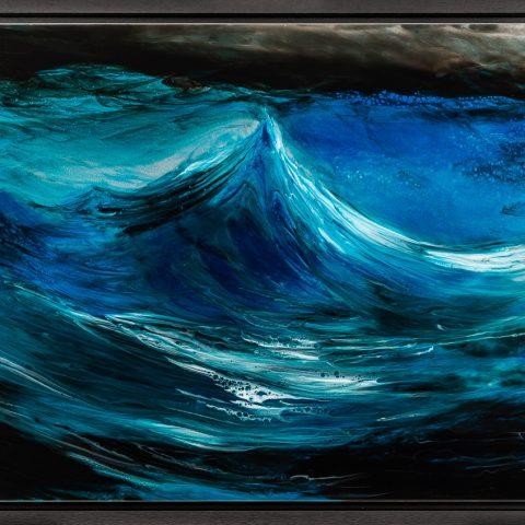 Rising Swell - Framed Image
