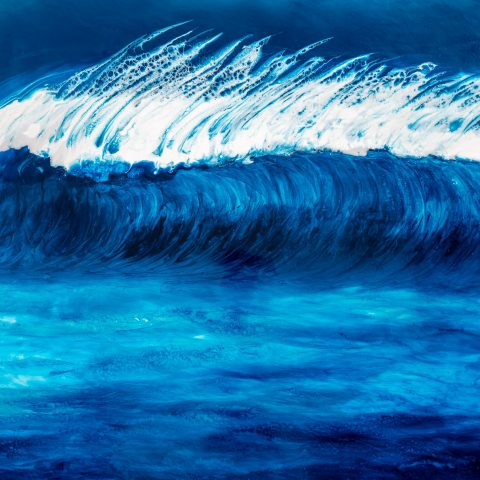 Perfection by Paul Kenton, UK Contemporary artist, a Original Ocean painting from his Seascapes and Mountainscapes art collection