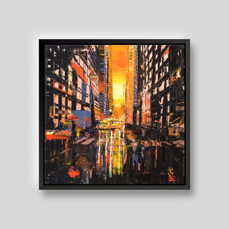 Fiery New York