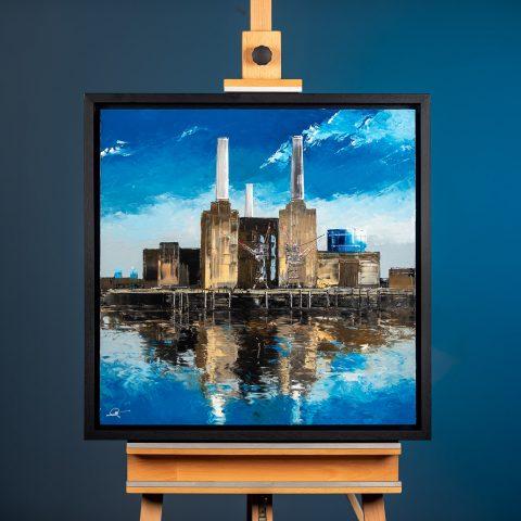 Battersea Blues - Framed Photo