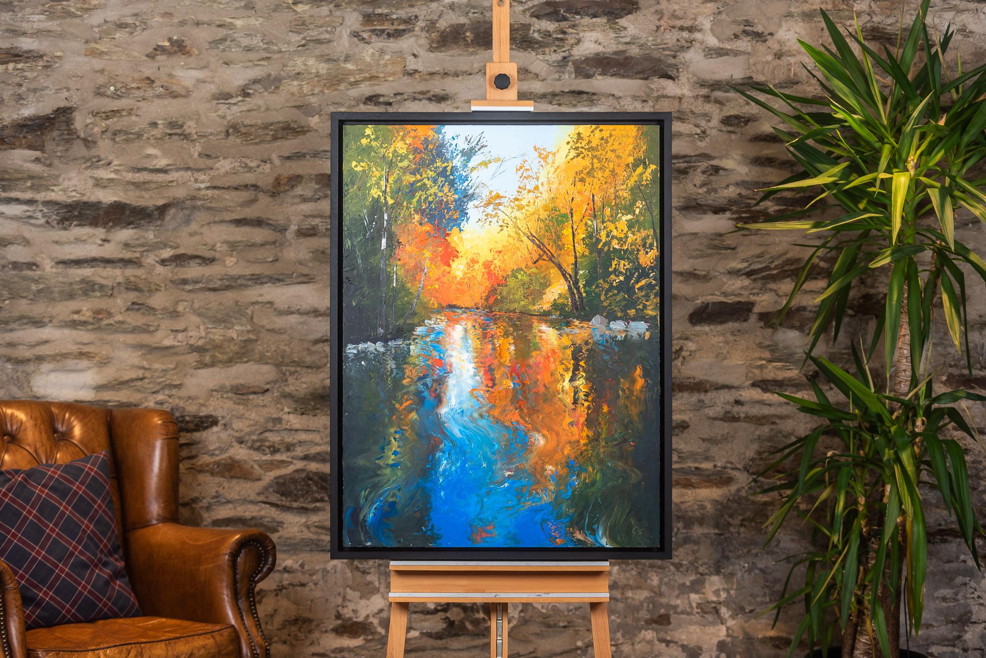 Autumn Awakens - Original Landscape painting from UK Artist Paul Kenton