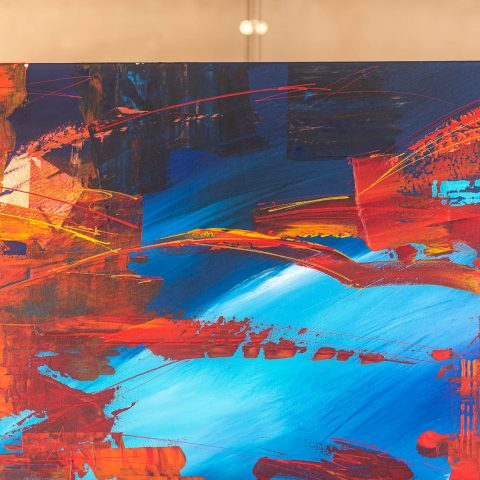 Expanse - Original Large-Scale Abstract Painting by UK Contemporary Artist Paul Kenton, from the Abstract Collection