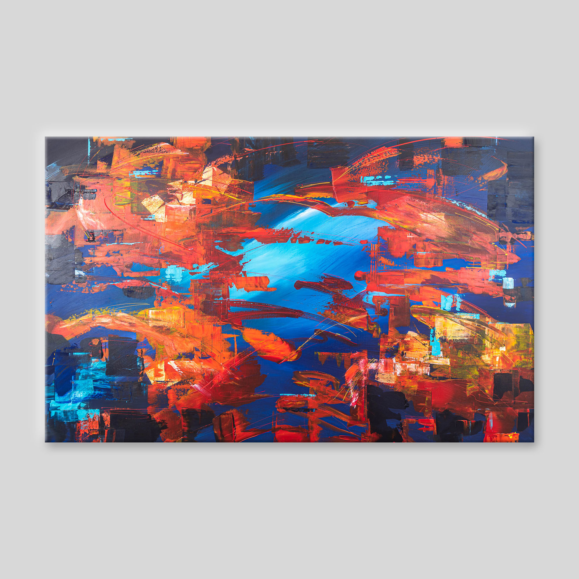 Expanse - Abstract Art Original Painting by UK Contemporary Artist Paul Kenton, from the Abstract Collection
