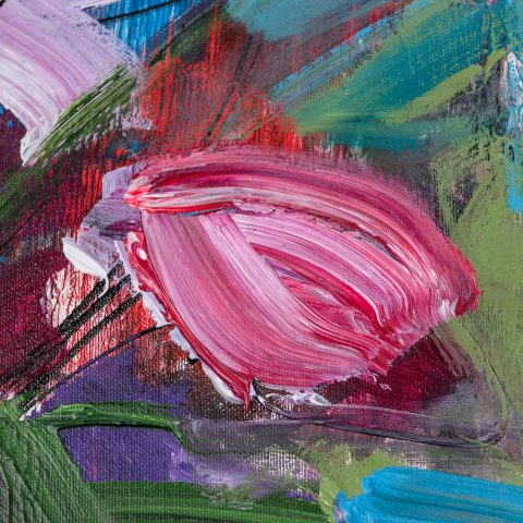 Joy - Original Large-Scale Abstract Painting by UK Contemporary Artist Paul Kenton, from the Abstract Collection
