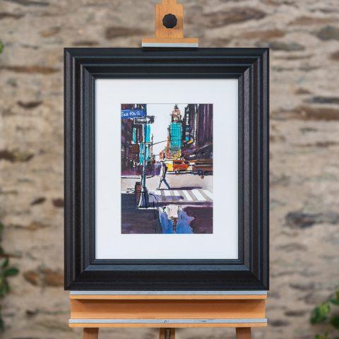 East 45th Street - Framed Photo