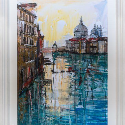 Gondola Travel - Framed Image