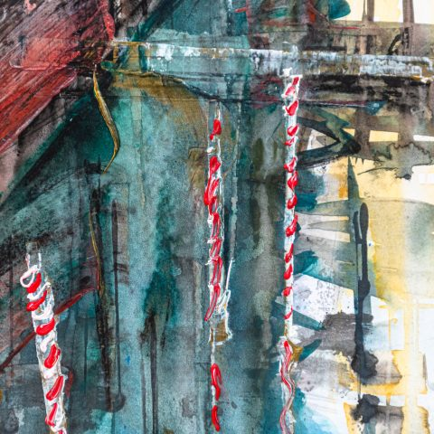 Gondola Travel - Close-Up Image