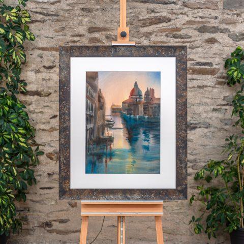 Venice Splendour - Original Venice Watercolour Painting by UK Contemporary Cityscape Artist Paul Kenton, from the Watercolour Collection