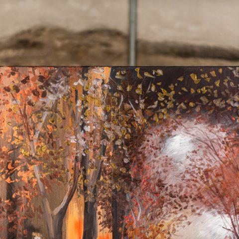 Golden Reflections - Close-Up PhotoGolden Reflections - Close-Up Photo